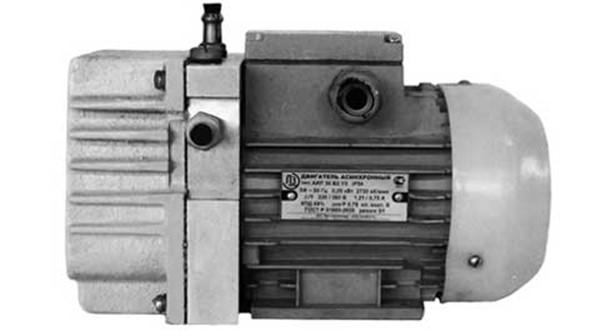 вакуумный пластинчато роторный насос НВР
